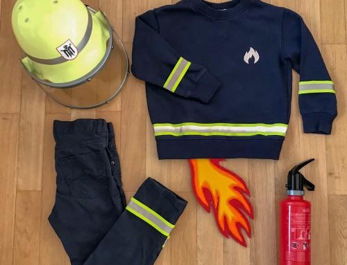 Kostüm: Feuerwehrmann ganz schnell gemacht